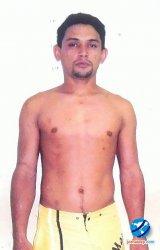 Adinoel Soares da Costa, fugitivo preso pela polícia de Esperantina