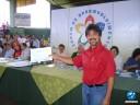 Francisco Limma, recebendo o certificado de instalação dos conselheiros do Território dos Cocais entregue ao prefeito de São João do Arraial