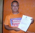 O pré-candidato a vereador Professor Manoel Filho, diz que já providenciou todas as certidões necessárias