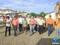 Caminhada de fechamento da  coligação que foi batizada de \'Todos por Joaquim Pires\'