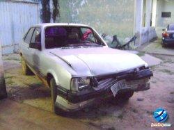 Veículo em que o cunhado da vítima dirigia