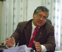Dr. Almir Abib Tajra Filho, juiz de direito da comarca de Esperantina
