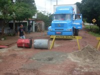 Caminhão da Transportadora Ramos