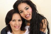 Stefhany e sua mãe