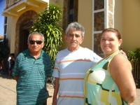 expedito, Geraldo Margela e esposa