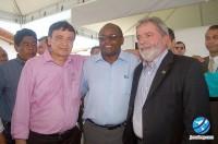 Weligthon Dias, Chico Antônio e Lula