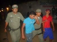 Policiais e presos