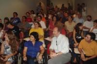 Participantes na Plenária