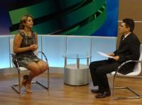 Jannaina Marques e Amadeu Campos