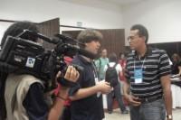 Entrevista a canal de televisão