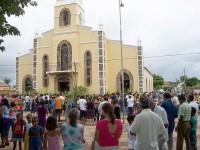 Igreja Matriz no Domingo de Ramos