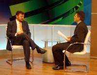 Wilson Martins e Amadeu Campos