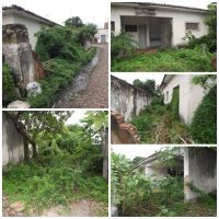 Imóvel onde morou diversos juizes continua abandonado no principal centro de Esperantina