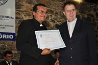 Padre Jurandir e Dom Alfredo