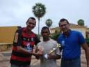 Junior, Adriano e José Luiz