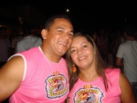 José Claudio e  esposa