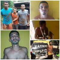 Recapturados sete  detentos da Penitenciaria de Esperantina