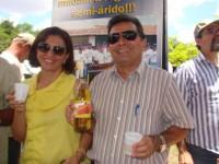 Dona Leda com Genival