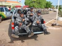 Policiais da Força Tática