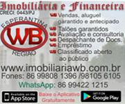 Imobiliária e Financeira WB <<<<Click e confira nossa página!!!>>>>